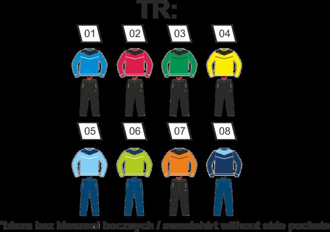 ARROW TR Dres sportowy Colo - bluza bez zamka