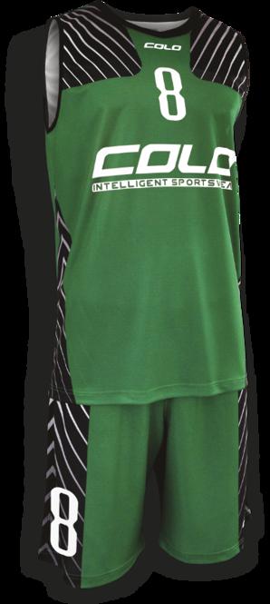 Strój do koszykówki Colo Progres - SUBLIMACYJNY