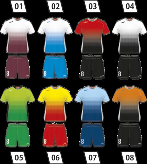 Strój piłkarski Colo Omega - SUBLIMACYJNY
